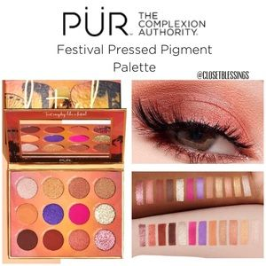 "PUR LIMITED EDITION ""FESTIVAL"" EYESHADOW PALETTE"